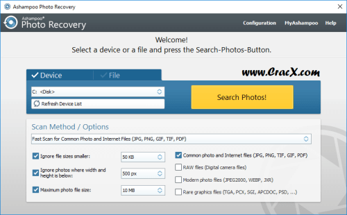 Ashampoo Photo Recovery 1.0.5.234 Keygen & Patch Download
