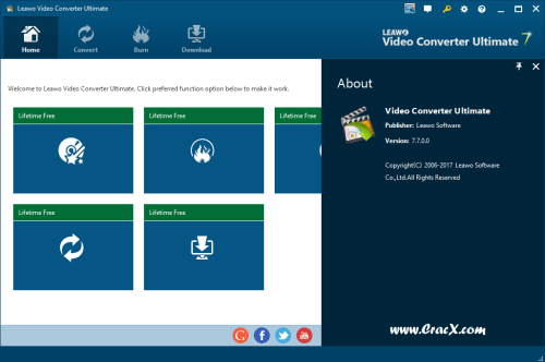 Leawo Video Converter Ultimate 7 Keygen & Crack Final Download