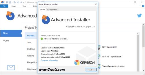 Advanced Installer Architect 13.8.1 Patch & Keygen Download