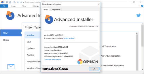 Advanced Installer Architect 14.0.2 License Key Final Download