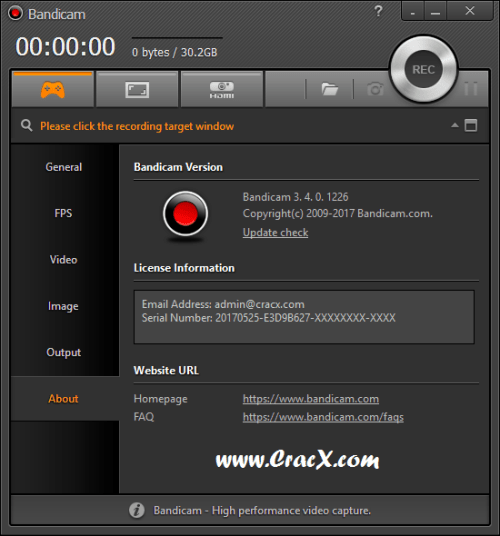 Bandicam 3.4.1.1256 Activator Keygen & Crack Download