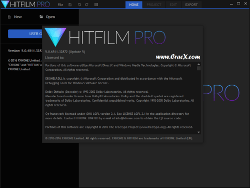 HitFilm Pro 2017 5.0.6511.32872 License Key Free Download