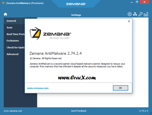 Zemana AntiMalware Premium 2.74.2.4 License Key Free Download