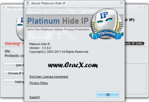 Platinum Hide IP 3.5.8.2 Serial Keygen + Patch Download