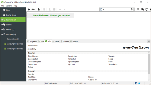 uTorrent PRO 3.5.0 build 43940 Portable + Keygen Download