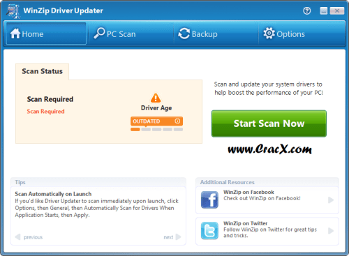 WinZip Driver Updater 5.18.0.12 Keygen & Crack Download