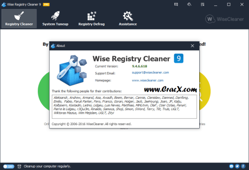 Wise Registry Cleaner Pro 9.46.618 License Key Full Download