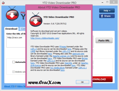 YTD Video Downloader PRO 5.8.7 Keygen & Activator Download
