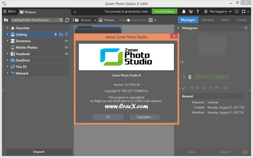 Zoner Photo Studio X 19.1709.2.38 + Crack & Keygen Download