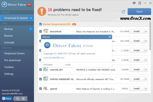 Driver Talent Pro 6.5.55.162 Keygen + Activator Download