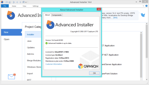Advanced Installer Architect 14.4 Keygen & Activator Download