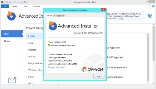 Advanced Installer Architect 14.4 Keygen & Activator Download