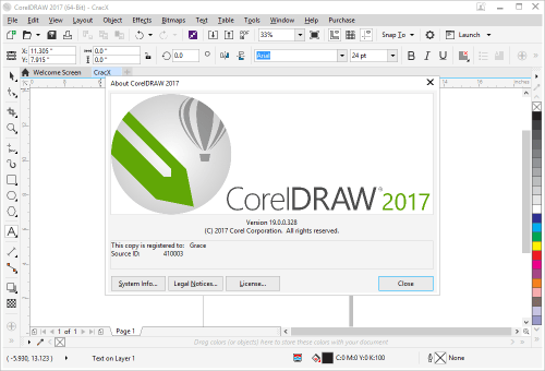 corel graphic suite 2017 serial number