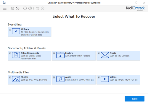 Ontrack EasyRecovery Professional 12.0.0.2 + Patch Download
