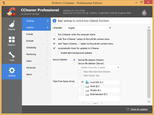 CCleaner Pro 5.38.6357 Patch + Serial Key Download