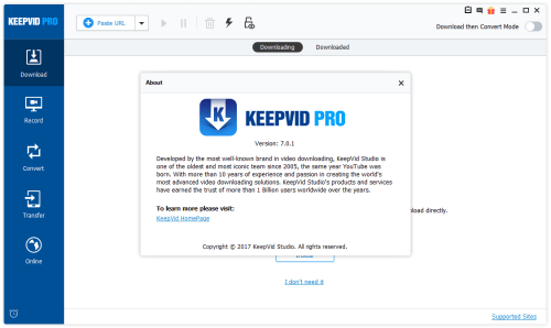KeepVid Pro 7 0 1 2 Full Crack + License Keygen Download