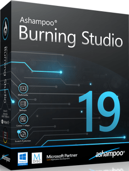 Ashampoo Burning Studio 19.0.1.5 Crack + License Key Download