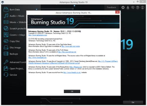 Ashampoo Burning Studio 19.0.1.5 Keygen & Activator Download