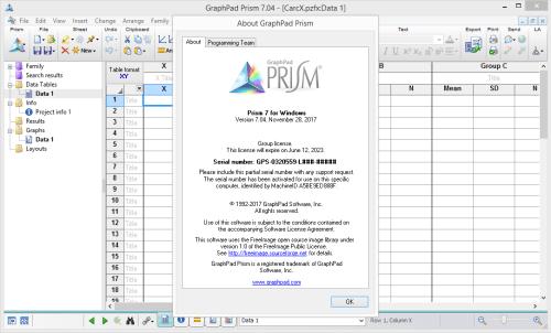 GraphPad Prism 7.04 Full Keygen & Activator Download