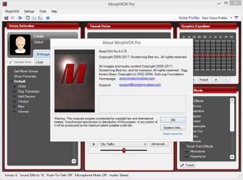 MorphVOX Pro 4.4.70 Keygen & Activator Free Download