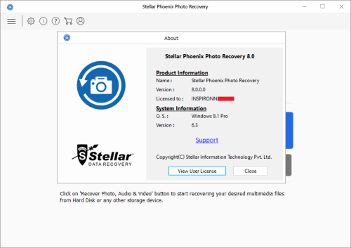 Stellar Phoenix Photo Recovery 8.0.0.0 Keygen & Activator Download
