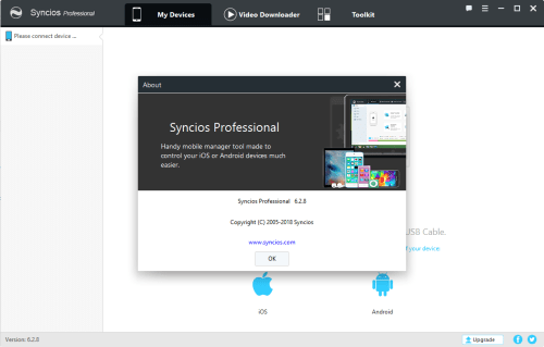 Syncios Manager Pro 6.2.8 Activator & Keygen Download