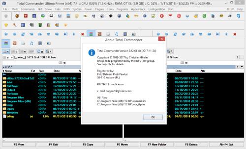 Total Commander Ultima Prime 7.4 Keygen & Activator Download