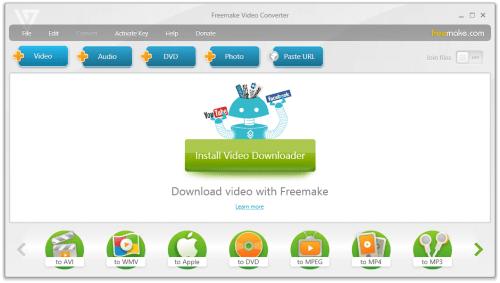 Freemake Video Converter Gold 4.1.10.52 Crack Free Download