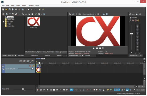 MAGIX VEGAS Pro 15.0.0.311 Crack & Serial Key Download
