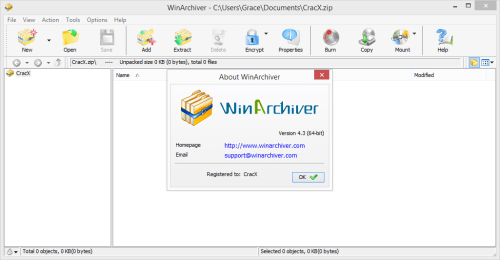 WinArchiver 4.3 Full Keygen & Activator Free Download