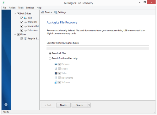 Auslogics File Recovery 8.0.7 License Key & Crack Download