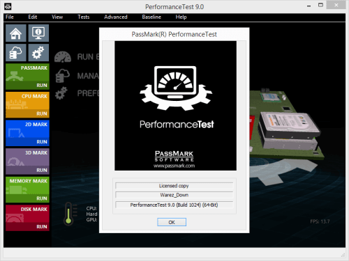 PerformanceTest 9.0 Build 1024 Keygen & Activator Download