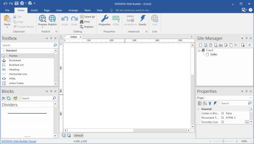 WYSIWYG Web Builder 12.5.0 Crack & License Key Download
