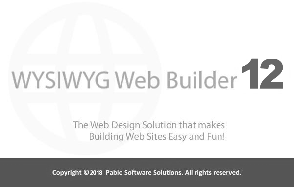 WYSIWYG Web Builder 12.5.0 Patch & License Key Download