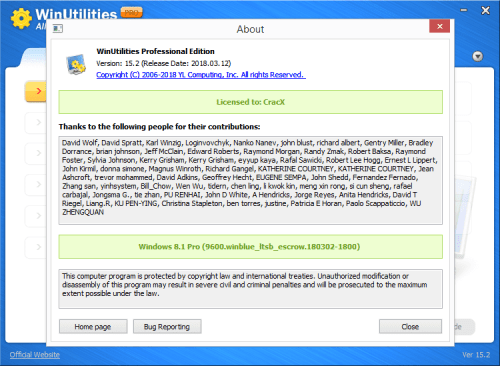WinUtilities Professional Edition 15.2 Keygen & Activator Download