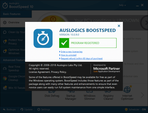 Auslogics BoostSpeed 10.0.9.0 Keygen & Activator Download