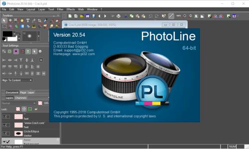 PhotoLine 20.54 Full Keygen & Activator Download