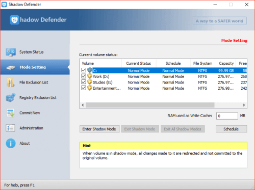 Shadow Defender 1.4.0.680 Patch & Serial Key Download