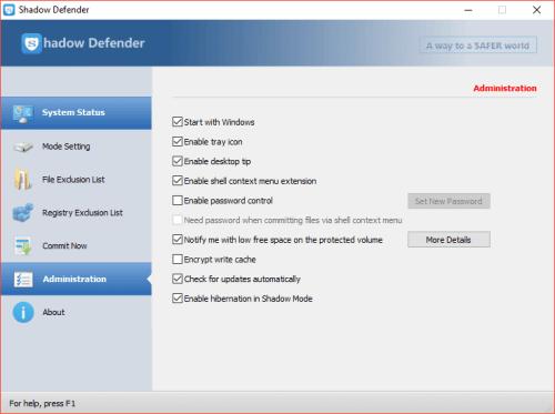 shadow defender registration code