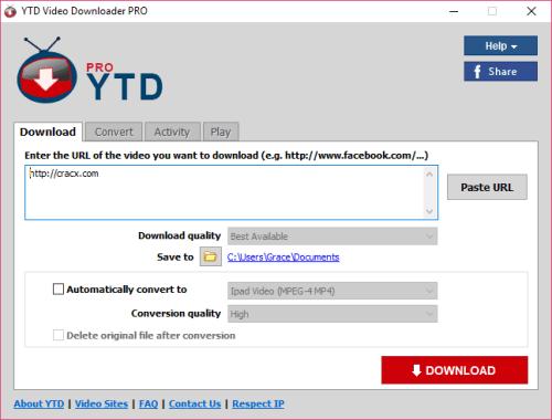 YTD Video Downloader Pro 5.9.7 Full License Key Download