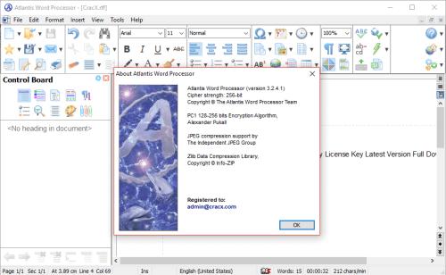 Atlantis Word Processor 3.2.4.1 Activator & Keygen Download