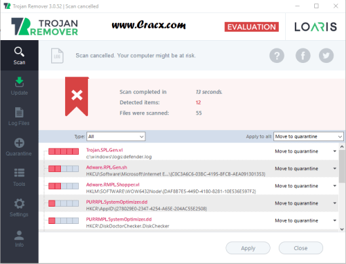 Loaris Trojan Remover 3.0.52.185 Crack + Serial Key Download