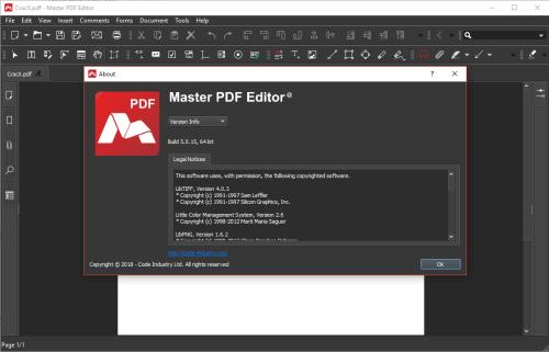 Master PDF Editor 5.0.15 Full Keygen & Activator Download