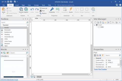 WYSIWYG Web Builder 14.0.5 Serial key & Crack Download