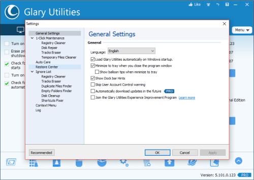 Glary Utilities Pro 5.101.0.123 Crack & Serial Key Download