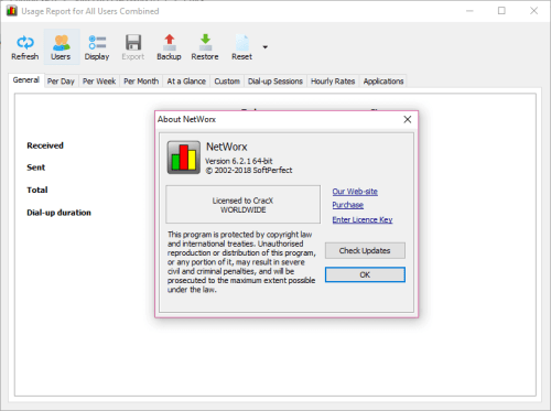 SoftPerfect NetWorx 6.2.1 Keygen & Activator Download