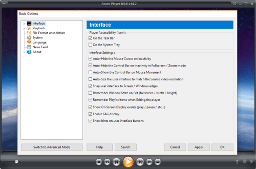 Zoom Player MAX 14.2 Build 1420 Crack & Serial Key Download