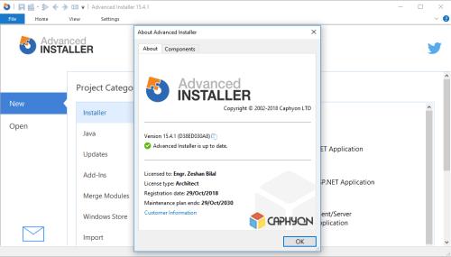 Advanced Installer Architect 15.4.1 Keygen & Activator Download