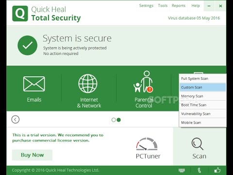 Quick Heal Total Security 2018 Crack + Serial Key 100% Working