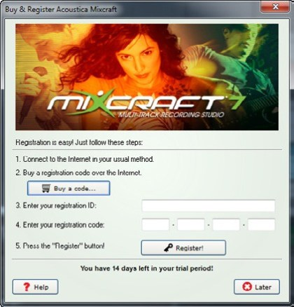Mixcraft 7 Registration Code 2018 with Crack Full Version